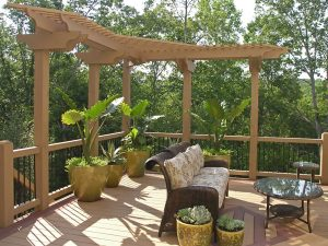 A deck adds space for living and enjoying your home